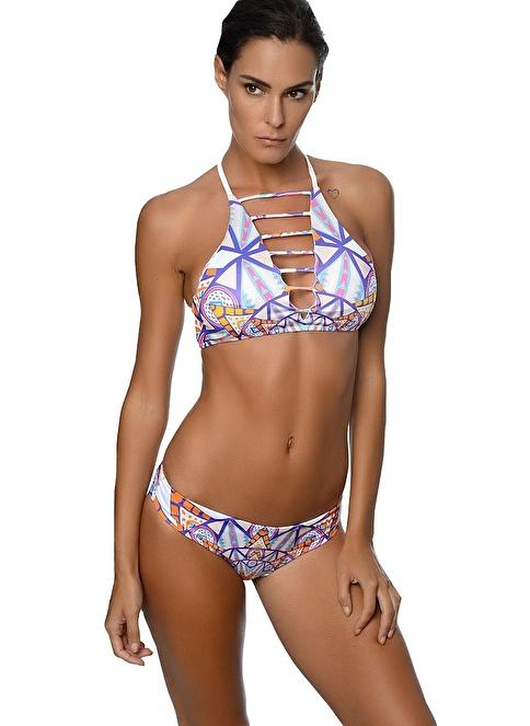 Movom Halter Bikini Renkli